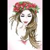 Diamond Dotz Blumenmädchen