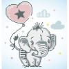 Diamond Dotz Elefant